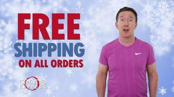 Tennis Express TV Spot, 'Holidays: Free Shipping' - Thumbnail 1