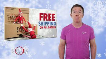 Tennis Express TV Spot, 'Holidays: Free Shipping' - Thumbnail 2