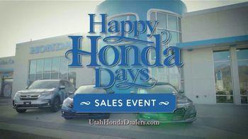 Happy Honda Days Sales Event TV Spot, 'Holidays: Problem' [T2] - Thumbnail 9