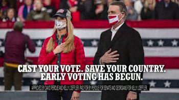 Perdue for Senate TV Spot, 'Saving America' Featuring Hershel Walker - Thumbnail 10