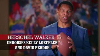 Perdue for Senate TV Spot, 'Saving America' Featuring Hershel Walker - Thumbnail 2