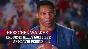 Perdue for Senate TV Spot, 'Saving America' Featuring Hershel Walker - Thumbnail 3
