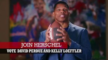 Perdue for Senate TV Spot, 'Saving America' Featuring Hershel Walker - Thumbnail 8