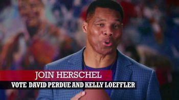 Perdue for Senate TV Spot, 'Saving America' Featuring Hershel Walker - Thumbnail 9