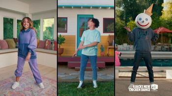 Jack in the Box Cluck Sandwich Combo TV Spot, 'New Chicken Dance: $7.99, $5.99' Featuring Becky G
