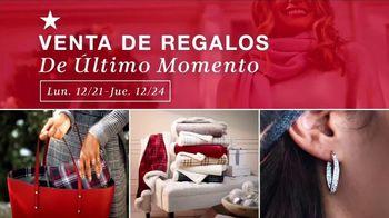Macy's Venta de Regalos de Último Momento TV Spot, 'Ofertas y sorpresas' [Spanish] - Thumbnail 1