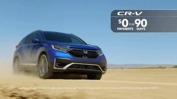 Happy Honda Days Sales Event TV Spot, 'Save 2020: HR-V and CR-V' [T2] - Thumbnail 3
