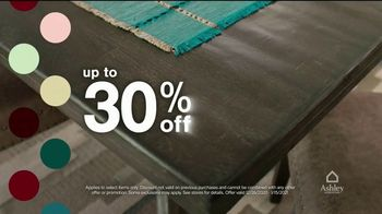 Ashley HomeStore New Years Sale TV Spot, 'Up to 30% Off or Financing and Payment Assistance' - Thumbnail 2