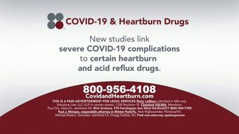 Sokolove Law TV Spot, 'COVID-19 and Heartburn Drugs'