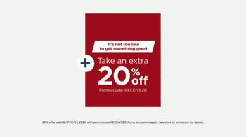 Kohl's Last Minute Gift Sale TV Spot, 'Holidays: Kitchen Must-Haves, Toys and Fragrances' - Thumbnail 3