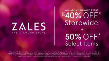 Zales You Are My Diamond Event TV Spot, 'Up to 40% Off Storewide' - Thumbnail 3