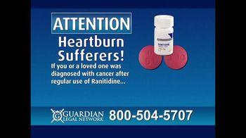 Guardian Legal Network TV Spot, \'Heartburn Sufferers: Ranitidine\'