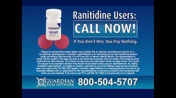 Guardian Legal Network TV Spot, 'Heartburn Sufferers: Ranitidine' - Thumbnail 8