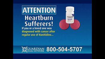 Guardian Legal Network TV Spot, 'Heartburn Sufferers: Ranitidine' - Thumbnail 2