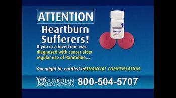 Guardian Legal Network TV Spot, 'Heartburn Sufferers: Ranitidine' - Thumbnail 3