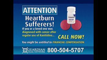 Guardian Legal Network TV Spot, 'Heartburn Sufferers: Ranitidine' - Thumbnail 4