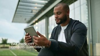 Sleep Number 360 Smart Bed TV Spot, 'Quality Sleep is Game-Changer' Ft. Dak Prescott - Thumbnail 1