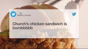 Church's Chicken Sandwich TV Spot, 'A Certified Hit' - Thumbnail 8