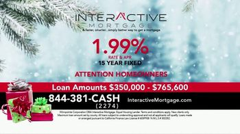 Interactive Mortgage TV Spot, 'Holidays: Lower Rates'