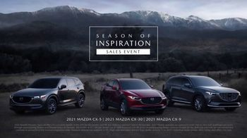 Mazda Season of Inspiration Sales Event TV Spot, 'Holidays: Seize the Moment' Song by WILD [T2] - Thumbnail 9