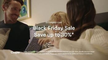 Casper Black Friday Sale TV Spot, 'A Little Comfort This Holiday Season: 30%' - Thumbnail 3