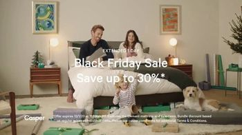Casper Black Friday Sale TV Spot, 'A Little Comfort This Holiday Season: 30%' - Thumbnail 4