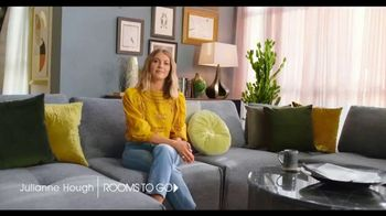 Rooms to Go TV Spot, 'Incredible Selection' Featuring Julianne Hough - Thumbnail 1