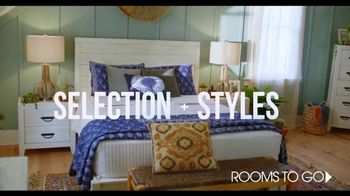 Rooms to Go TV Spot, 'Incredible Selection' Featuring Julianne Hough - Thumbnail 5