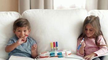 Crayola Color Wonder Mess Free Coloring TV Spot, 'Life Can Be Messy: Magic Light Brush'