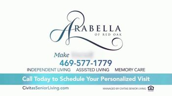 Civitas Senior Living Arabella of Red Oak TV Spot, 'Friendship' - Thumbnail 10