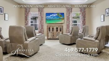 Civitas Senior Living Arabella of Red Oak TV Spot, 'Friendship' - Thumbnail 7
