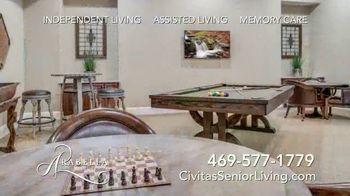 Civitas Senior Living Arabella of Red Oak TV Spot, 'Friendship' - Thumbnail 9