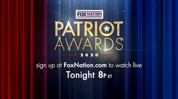 FOX Nation TV Spot, '2020 Patriot Awards' - Thumbnail 8
