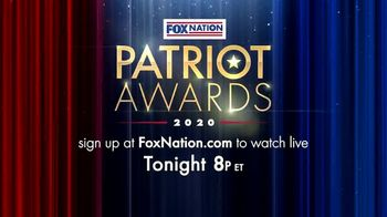 FOX Nation TV Spot, '2020 Patriot Awards' - Thumbnail 9
