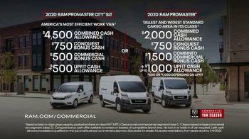 Ram Commercial Van Season TV Spot, 'Unstoppable: Vans' [T2] - Thumbnail 8