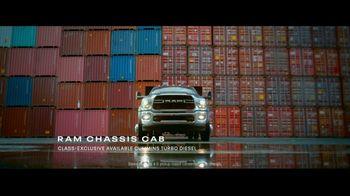 Ram Commercial Truck Season TV Spot, 'Unstoppable: Trucks' [T2]