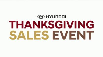 Hyundai Thanksgiving Sales Event TV Spot, 'Feast on the Savings' [T2]