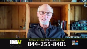 Disabled American Veterans TV Spot, 'Take Care of One Another' Featuring Ed Harris