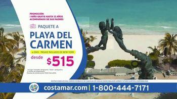 Costamar Travel Ofertas de Locura TV Spot, 'Riviera Maya, Playa Del Carmen, La Romana y más' [Spanish]