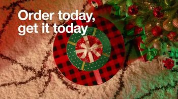 Target TV Spot, 'Holidays: Order Today and Get It Today' Song by Mary J. Blige