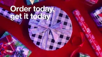 Target TV Spot, 'Holidays: Order Today and Get It Today' Song by Mary J. Blige - Thumbnail 4