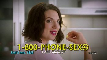 1-800-PHONE-SEXY TV Spot, 'A Little Snack'