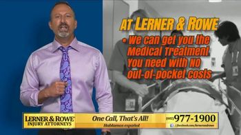 Lerner and Rowe Injury Attorneys TV Spot, 'No Problem'