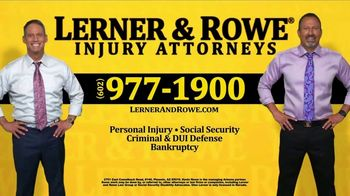 Lerner and Rowe Injury Attorneys TV Spot, 'No Problem' - Thumbnail 6