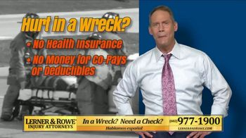 Lerner and Rowe Injury Attorneys TV Spot, 'No Problem' - Thumbnail 2
