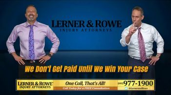 Lerner and Rowe Injury Attorneys TV Spot, 'No Problem' - Thumbnail 5