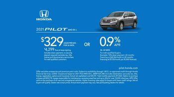 Happy Honda Days Sales Event TV Spot, 'Serious: Passport, Pilot and Ridgeline' [T2] - Thumbnail 9