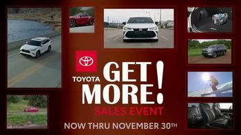 Toyota Get More Sales Event TV Spot, 'Taking It Up a Notch' [T2] - 124 commercial airings