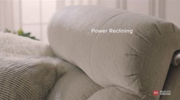 Value City Furniture TV Spot, 'ComforTECH Reclining: Newest Family Member' - Thumbnail 3
