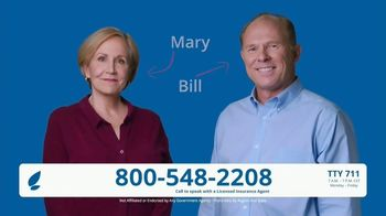 GoMedicare TV Spot, 'Mary and Bill: $144 Added Back' - Thumbnail 1